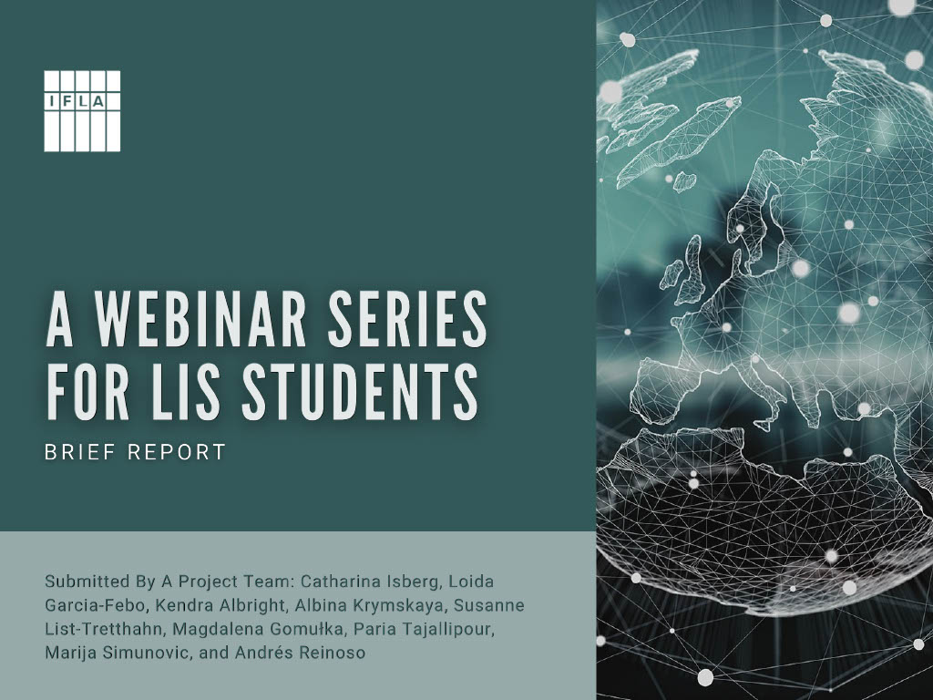 A Webinar Series for LIS Students